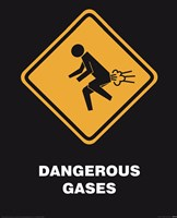 """Dangerous Gases by Peggy Abrams - 16"""" x 20"""""""