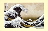 The Great Wave off Kanagawa, c.1830 Wall Poster