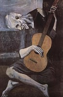 "Old Guitarist by Pablo Picasso - 24"" x 36"""