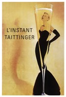 Champagne Taittinger Wall Poster