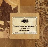 Vin Rouge Framed Print
