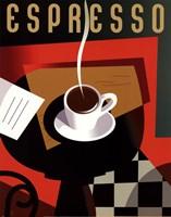 Cubist Espresso Fine Art Print