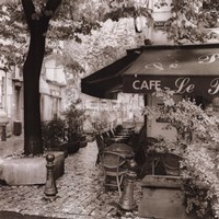 Cafe, Aix-En-Provence Fine Art Print