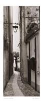 "La Strada, Portofino by Alan Blaustein - 10"" x 24"""