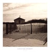 "Dune Shack by Christine Triebert - 18"" x 19"""