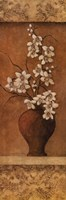 Orchids On Honey II Framed Print