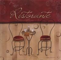 "Ristorante by Carol Robinson - 12"" x 12"""