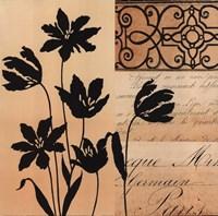 Noir Et Creme III Fine Art Print