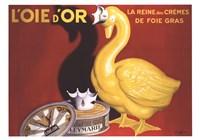 L'oie D'or Fine Art Print