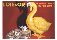 L'oie D'or by Gerard Paul Deshayes - various sizes