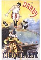 Darby Cirque D'ete Fine Art Print
