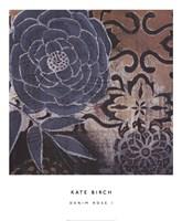 Denim Rose I Fine Art Print