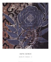 Denim Rose II Fine Art Print