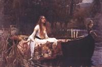 Lady of Shalott, c.1888 Fine Art Print