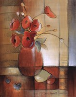 "16"" x 20"" Poppies Art"