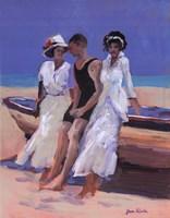 "Island Leisure by Jane Slivka - 22"" x 28"""