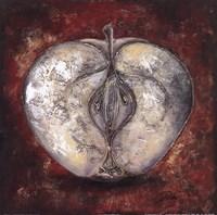 Manzana Roja Fine Art Print