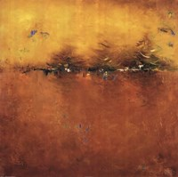 "Orange Sunset by Patricia Pinto - 24"" x 24"""