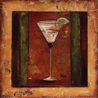 "Coctelito IV by Patricia Pinto - 12"" x 12"" - $9.99"
