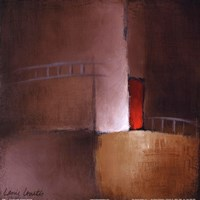 "Chocolate Square II by Lanie Loreth - 12"" x 12"""