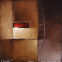 "Chocolate Square III by Lanie Loreth - 12"" x 12"""