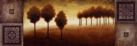 "Warm Horizon II by Michael Marcon - 36"" x 12"""