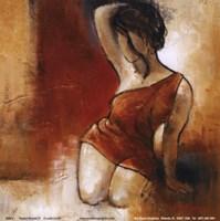 Seated Woman II Fine Art Print