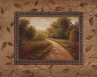 New Country Road Framed Print