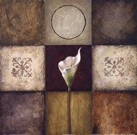 "Flourish I by Michael Marcon - 12"" x 12"""