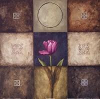 "Flourish II by Michael Marcon - 12"" x 12"""