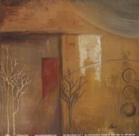 "Inspiration In Ochre VI by Patricia Pinto - 6"" x 6"""