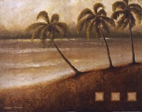 Tropical Escape II Framed Print