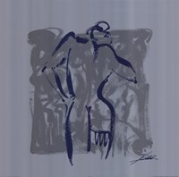 Body Language VIII (silver) Fine Art Print