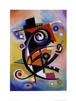 Homage to Kandinsky Fine Art Print