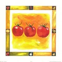 Tomatoes Mosaic Fine Art Print
