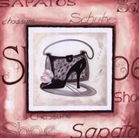"Fashion Shoes III by Alfred Gockel - 10"" x 10"""