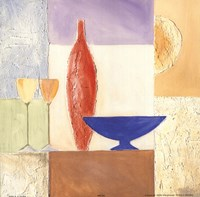Vase Mosaic I Fine Art Print