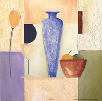 Vase Mosaic III Fine Art Print