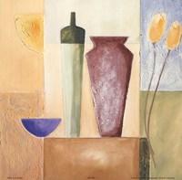 "Vase Mosaic IV by Alfred Gockel - 8"" x 8"" - $9.99"