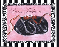 Bling Bling I - Paris Fashion Fine Art Print