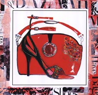 Magazine Mania Shoes I Fine Art Print