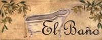 Bath Series - El Bano Fine Art Print