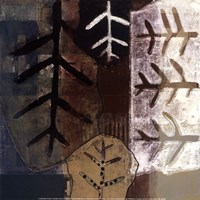 """Nature's Trace II by Gerard Paul Deshayes - 12"""" x 12"""", FulcrumGallery.com brand"""