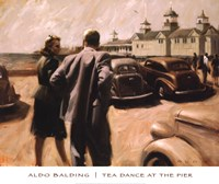 "Tea Dance at the Pier by Aldo Balding - 24"" x 20"""