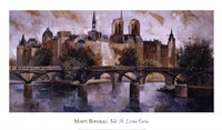 Isle St. Louis Paris Fine Art Print
