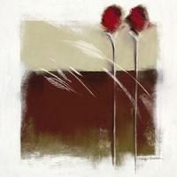 "Mocha II by Marilyn Robertson - 20"" x 20"""