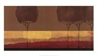 "Autumn Silhouettes II by Tandi Venter - 39"" x 22"""