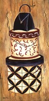 "Vintage Hat Box I by Krista Sewell - 12"" x 24"""
