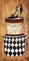 "Vintage Hat Box II by Krista Sewell - 12"" x 24"""