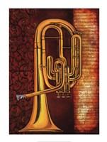 Tenor Horn Fine Art Print